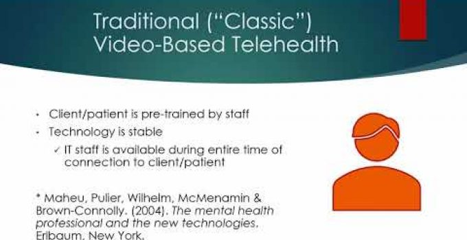 Telebehavioral Health – What Every Provider Needs to Know